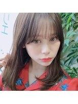 アフロートナゴヤ(AFLOAT NAGOYA)【似合わせ前髪】韓国風シースルーバング