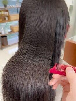 オリジン サロン(THE ORIGIN'S SALON)の写真/新感覚◆話題の《髪質改善トリートメント》◆癒しのメニューで髪と頭皮のダメージを補修する極上のヘアケア