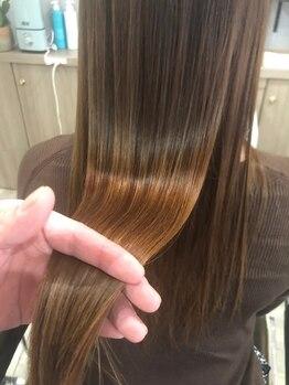 ヘアーアンドリフレッシュルアン(hair & refresh Ruan)の写真/髪質改善トリートメント【エヴァロイド】で広がる/うねる/ハリがない…そんなお悩みを改善し、うる艶髪へ◎