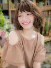 カバーヘア ブリス 北浦和西口店(COVER HAIR bliss)*+COVER HAIR+*…技あり☆カラーでカジュアルボブa
