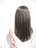 ヘアサロン レア(hair salon lea)【LEA赤羽,山本】アッシュカーキ美髪シルエット