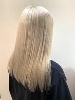 サロンドミルク 溝の口店(salon de MiLK)white blonde
