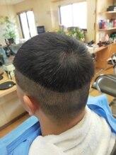 カットライン(CUT LINE)クロップヘア