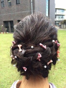 ヘアディレクション ビークス 上並榎店(HAIR DIRECTION BEECX)成人式、卒業式ヘアセット☆