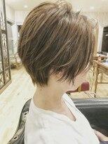 ヘアーサロン リアン 鴻巣店(hair salon Rien)おしゃれショート☆ベージュ