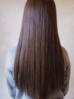 スイッチ 本店(SWITCH)の写真/<ケラスターゼトリートメント×ダメージレス縮毛矯正>持ちが良くなるトリートメントで扱いやすい髪へ♪