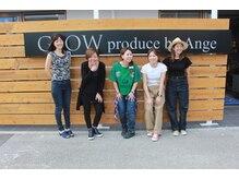 グロウ(GLOW produce by Ange)の雰囲気( 女性スタッフ多☆豊崎エリア最大型サロン)