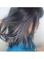 Lee梅田◆ボブディ×イルミナ3Dカラー×インナーカラー黒髪風