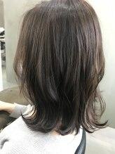 ヘア サロン イチャリ(hair salon ICHARI)藏田智世/さりげないハイライトでペールトーン