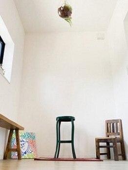 トネリコ(toneriko)の写真/穏やかな空間。心地よい音楽。好きな本を読みながら美容を楽しめる落ち着いた雰囲気のプライベートサロン◎