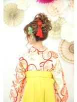 カジュアルセットサロン コレット(Casual Set Salon Colette)袴卒業式ヘアセット/ふわふわの高めアップ