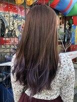 pink × purple ×ash