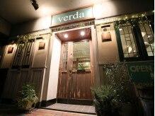 ベルダ(verda)の雰囲気(カフェのような入口♪)