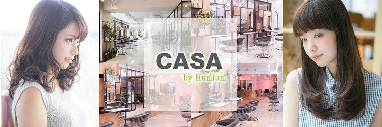 カーサ バイ ハミュウ(CASA by Humium)のサロンヘッダー