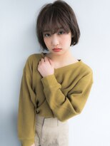 アソート トウキョウ (ASSORT TOKYO)【ASSORT】シースルーバングショート