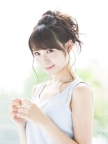 やわふわ夏アップスタイル☆ドレスヘア
