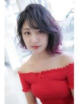 カイナル 関内店(hair design kainalu by kahuna)ラベンダーカラー