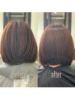 グリーン(Glean)簡単スタイリング♪美髪艶髪ボブ