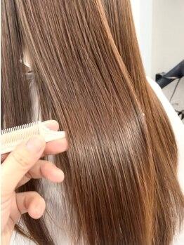 ヴェアリ 西麻布(VARY)の写真/【TOKIO・酸熱トリートメント・超音波アイロン取扱有】髪質改善、こだわりのヘアケアで理想のつや髪に。