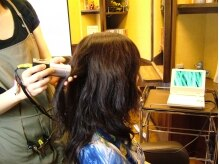 ヘアサロン コマチ(hair salon comachi)の雰囲気(毛髪診断であなたの髪内部の状態をチェックします!)