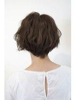 ノート 中目黒(note)[30代・40代大人女性]波ウェーブショートボブ中目黒