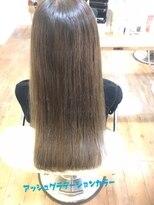 リゾートフォーヘアー 嵯峨店(ReSORT FOR HAIR)アッシュグラデーションカラー