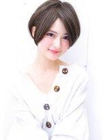【イルミナカラーオーシャン☆丸みショートボブ】Hayato Ooshiro
