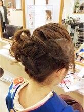 ヘアメイク ルポ(Hair Make rePos)成人式ヘアセット