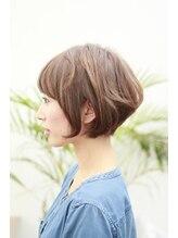 ヘアー アトリエ トゥルー(hair atelier true)true矢尾板サロンワークスタイルvol.3 小顔前下がりショートボブ