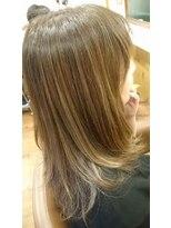 テトラ ヘアー(TETRA hair)透明感コントラストカラー