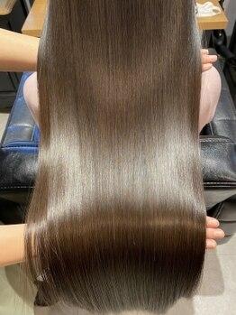 フラン(flan)の写真/care-髪質改善で触りたくなる髪_明石駅チカ