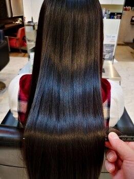 ディシェル(D'ciel)の写真/『酸熱トリートメント』導入サロン★今までにない美髪が長く続くのが魅力♪繰り返すとより効果UP◎