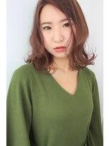 ジル ヘアデザイン ナンバ(JILL Hair Design NAMBA)【大人カッコイイ】ミディアムボブの外はねミックス☆
