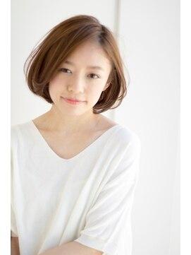 ヘアサロン ガリカ 表参道(hair salon Gallica)ラフ 前髪なし カジュアルボブ