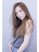 アルマヘア(Alma hair)ベージュブラウン☆ストレートロング