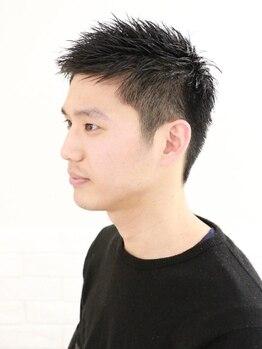 """リリィ ヘアデザイン(LiLy hair design)の写真/働く男性のためのシンプルだけどオシャレな再現性の高いスタイル提案で、""""また通いたくなる""""と大人気!"""