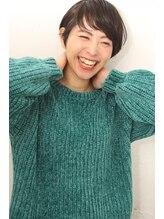 ジー(G)笑顔ショート 誰でもかわいくなれるショート