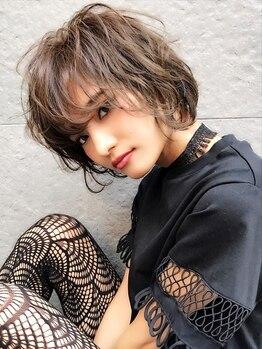 ラテ 恵比寿(LATTE)の写真/《カット¥2500》憧れハンサムショート・ボブ☆毎月のメンテナンスもプチプラで!!