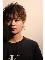メンズヘアースパイス ユメサキ(Men's Hair SPICE -yumesaki-)ふわっとエアリーウルフ