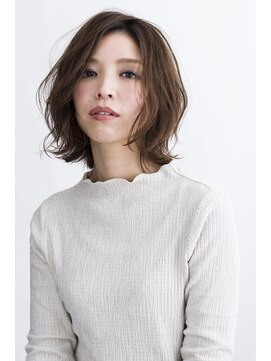 ハナブサ 藤江店(HANABUSA)カジュアルボブ×ぬけ感無造作ウェーブ