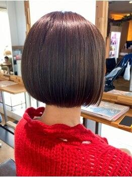 ミクラス 自由が丘(MICRAS)の写真/【個室あり】先を見据えたスタイル提案で髪が伸びても、美シルエットはそのまま。悩みも理想も気軽に相談◎