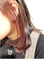 ローグ ヘアー 金町店(Rogue HAIR)ローグヘアー【高 和宏】3Dカラー大人かわいいインナーカラー