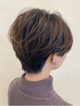 アクトイズム(act ISM)の写真/白髪のお悩みも髪と頭皮にやさしく、色持ちも◎なダメージレスカラーであなたに合わせた色味をご提案♪