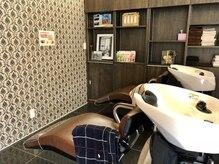 アローヘアーサロン(arrow.hair salon)の雰囲気(シャンプー台になります♪)