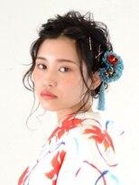 アース 恵比寿店(HAIR&MAKE EARTH)浴衣スタイル・ギブソンタック