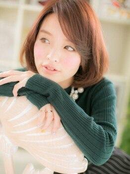 シュ シュ ヘア 本厚木店(Chou Chou hair)の写真/【高濃度炭酸ヘッドスパ+カット¥4320】あなたの希望に合わせて自宅でも再現しやすいスタイルを創ります★