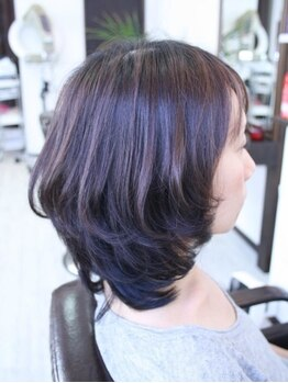 ヘアーファーブ(hair farve)の写真/大人女性に人気のサロン☆その秘密はなんといっても的確な技術とリラックスできる空間にあり!