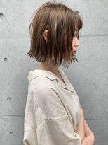 ラウンジ モリオ イケブクロ(Lounge MORIO Ikebukuro)【morio池袋】大人かわいい切りっぱなしボブ♪