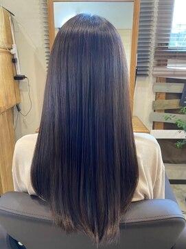 アリシアヘアー(ARISHIA hair)髪質改善 さら艶 ストレート 艶髪 【アリシアヘアー 那珂】