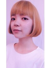 サロン アコ(salon aco)「platina×aco×M.style」